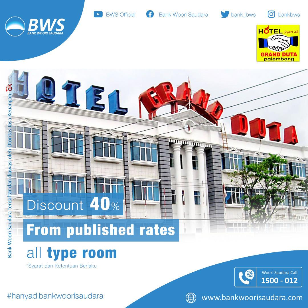 Hotel Grand Duta Room Rates Promo
